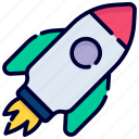 start up, rocket, launch, missile, space, spaceship, astronomy