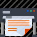 thinking, design, paper, print, think, idea icon