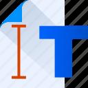 thinking, design, paper, think, type, idea icon