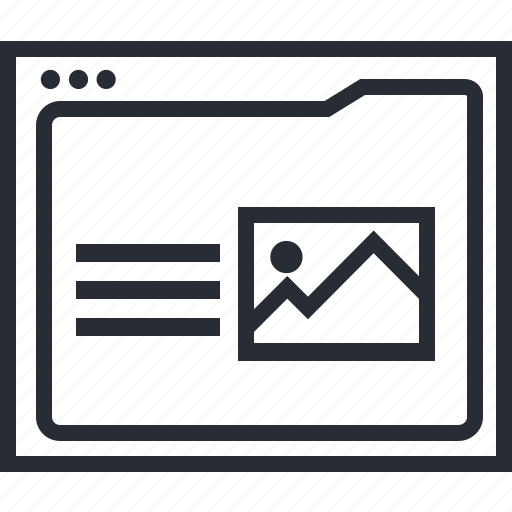 computer, design, idea, paper, think, webpage icon