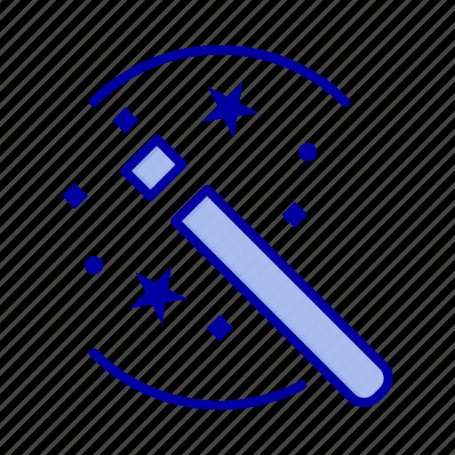 Magic, solution, stick, tricks icon - Download on Iconfinder