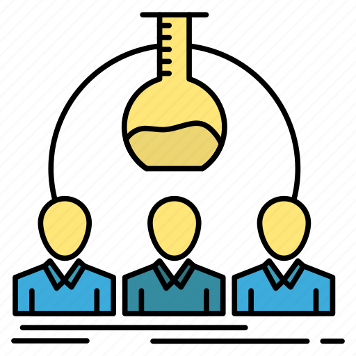 experiment, lab, labortary, man, scientist icon