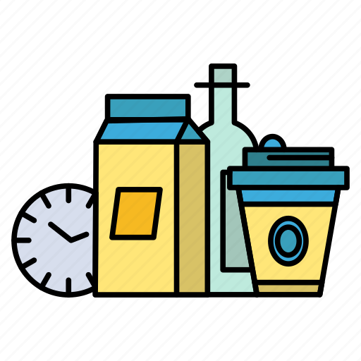 Coffee, food, items, milk icon - Download on Iconfinder