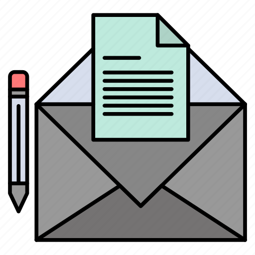 Letter, mail, message, fax icon - Download on Iconfinder