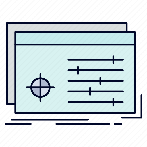 file, object, processing, settings, software icon
