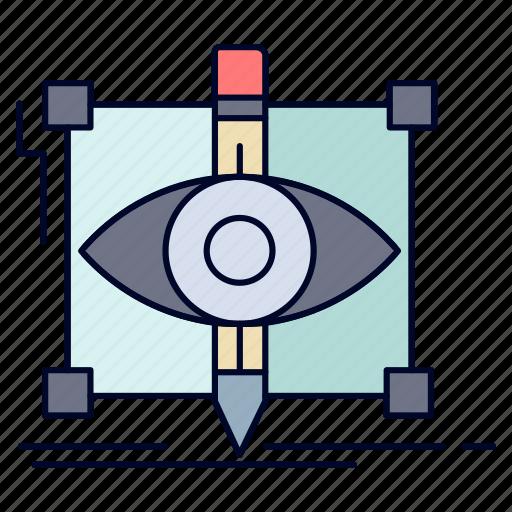 Design, draft, sketch, sketching, visual icon - Download on Iconfinder