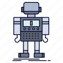 autonomous, machine, robot, robotic, technology icon