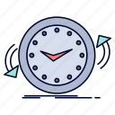 backup, clock, clockwise, counter, time icon