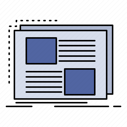 content, design, frame, page, text icon