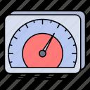 dashboard, device, internet, speed, test icon