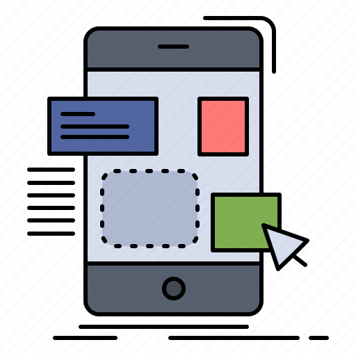 design, drag, mobile, ui, ux icon