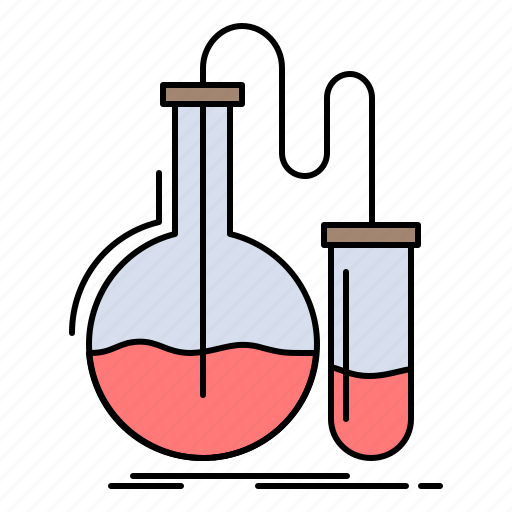 Analysis, chemistry, flask, research, test icon - Download on Iconfinder