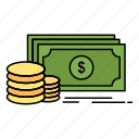 finance, investment, money, payment icon