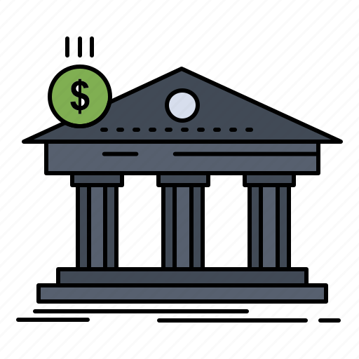 Architecture, bank, banking, building, federal icon - Download on Iconfinder