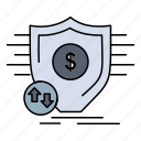 finance, financial, money, secure, security icon