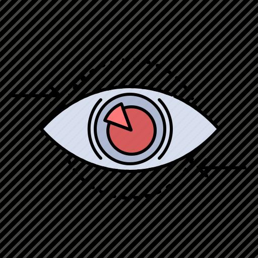 Business, eye, marketing, plan, vision icon - Download on Iconfinder
