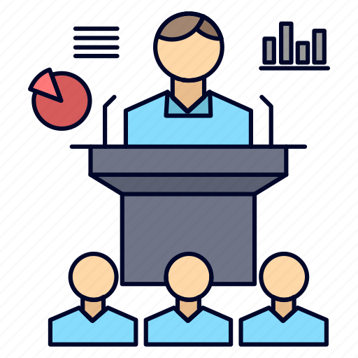 Business, conference, convention, presentation, seminar icon - Download on Iconfinder