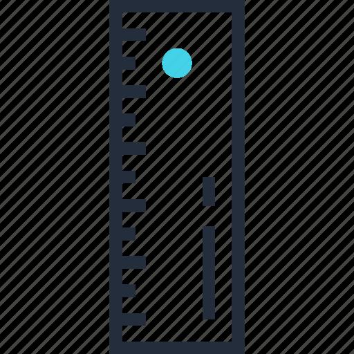 design, graphic, instrument, measure, precision, ruler, tool icon