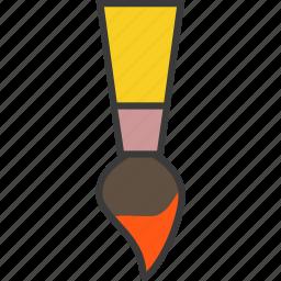 brush, design, paint, paint brush icon