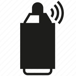 bottle, graffiti, spray icon