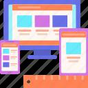 mobile friendly, responsive, web development, responsive design, design, fluid icon
