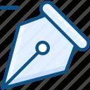 design tool, pen, pen remove, pen tool, pen tool remove, remove icon icon