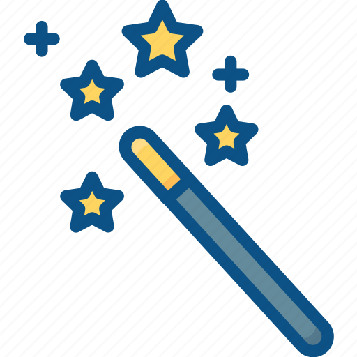 automatic, magic, magician, stick, wand icon icon