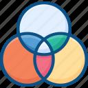 design, divide, graphic, tool icon icon