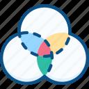 builder, creative, design, graphic, shape, tools icon icon