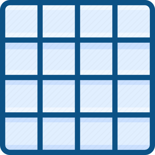 grid, grid design, grid layout, grid system icon, wireframe icon