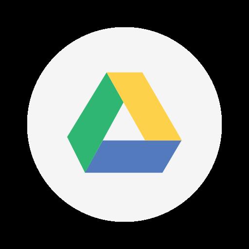 cloud, collaboration, designer, drive, google, productivity, storage icon