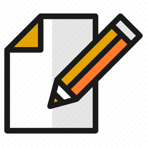 compose, designs, document, file, new, tools, write icon