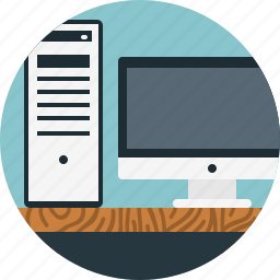 desktop, mac, monitor, pc icon