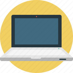 computer, laptop, mobile, monitor icon