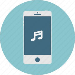 mobile, music, phone, smart phone icon
