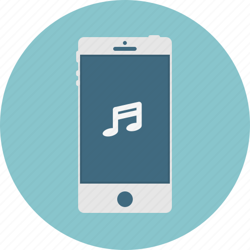 Mobile, music, phone, smart phone icon - Download on Iconfinder