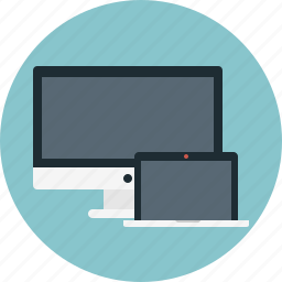 computer, laptop, mac, monitor, pc icon