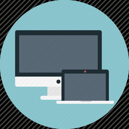 Pc, laptop, computer, mac, monitor icon