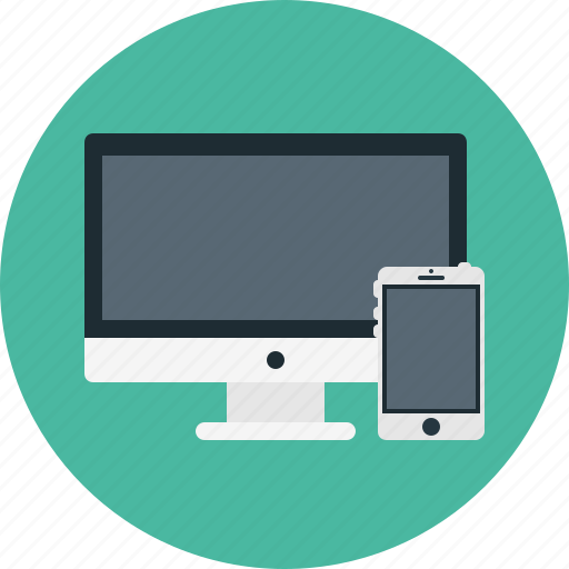 mobile, monitor, pc, responsive, smarthphone icon