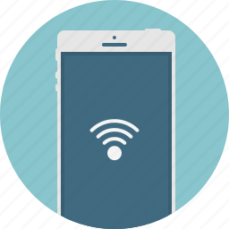 connection, mobile, phone, smart phone, wifi icon