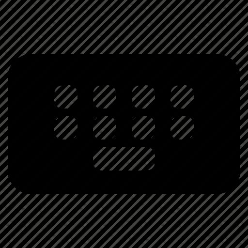 app, desktop, keyboard, pc, technology icon