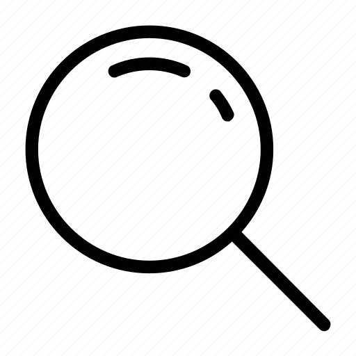 lens, magnifying glass, search, searching, zoom icon
