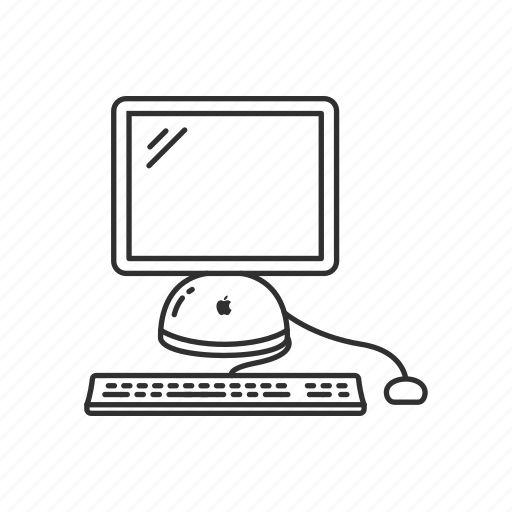 Apple computer, computer, desktop mac, imac, imac g4, office supply, pc icon - Download on Iconfinder