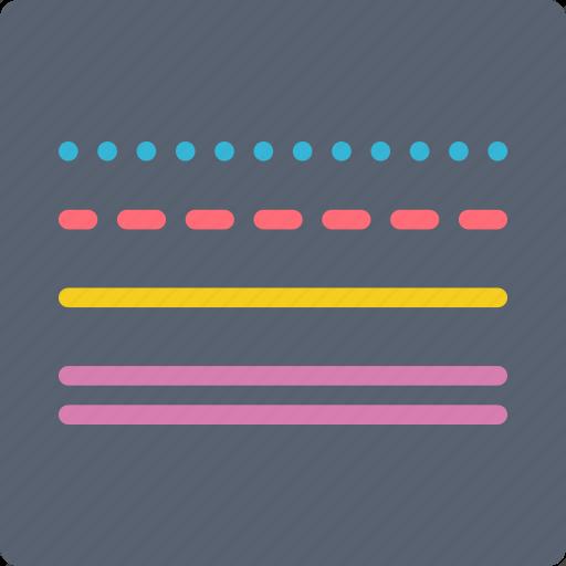 desktop, drawing tool, publishing, strokes icon