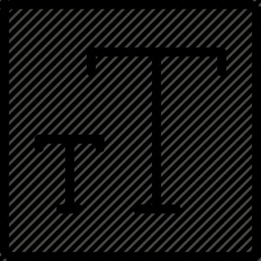 desktop, publishing, resize, size, text icon