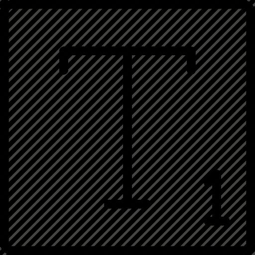desktop, publishing, subscript, text icon