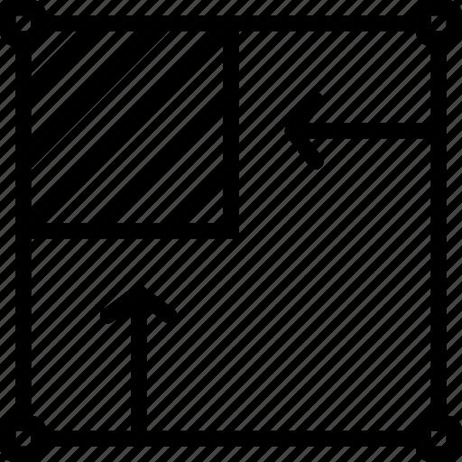 crop, desktop, image, publishing, resize icon
