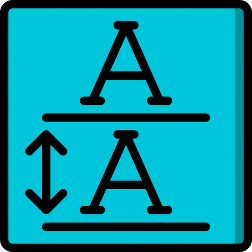 desktop, drawing tool, height, line, publishing icon
