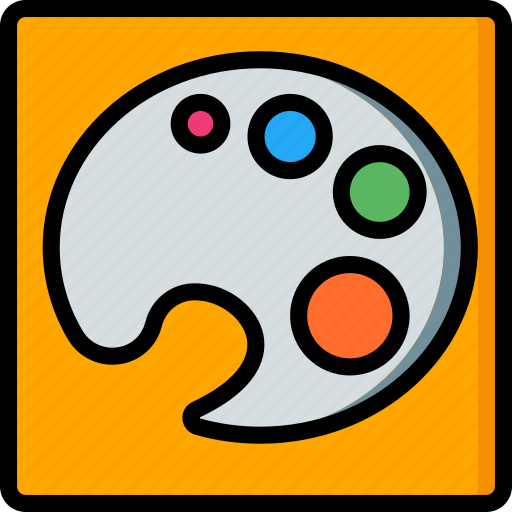 Colour, desktop, drawing tool, pallettes, publishing icon - Download on Iconfinder