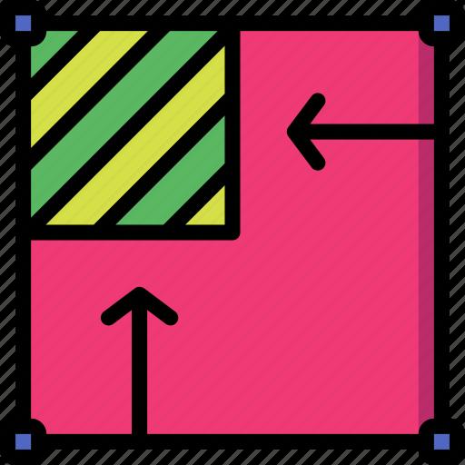 crop, desktop, drawing tool, image, publishing, to icon